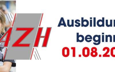 Ausbildungsbeginn bei AZH – Gemeinsamer Start ins Berufsleben
